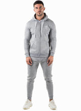 Gym King Men's Tracksuit Top Zipped Hoodie