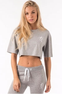 Gym King Ladies Kourtney Crop T-shirt