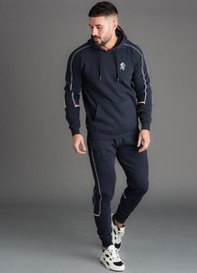 Gym King Men's Lewis Retro Taped Pullover Hoodie
