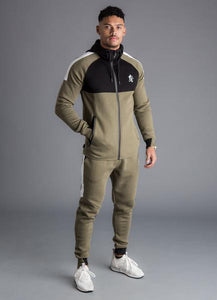 Gym King Men's Lombardi Zip Through Tracksuit Top