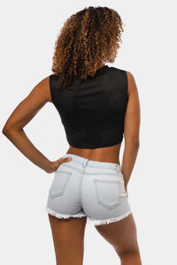 Jed North Ladies Phoenix Mesh Crop