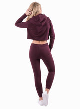 Gym King Ladies Kady Crop Hoodie
