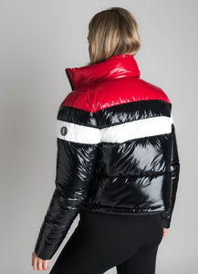 Gym King Ladies Retro Puffa Jacket