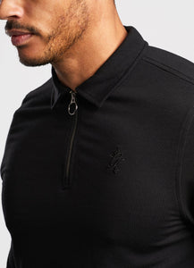 Gym King Men's Signature Long Sleeve Polo