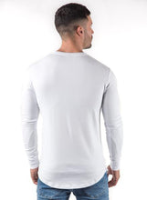 Gym King Men's Longsleeve Fitted T-shirt