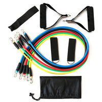 13Pcs Latex Resistance Bands Set Yoga Exercise Fitness Elastic Rubber Tubes Band Training Workout Gym Expander Pilates Equipment