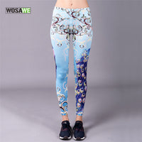 WOSAWE Women Yoga Pants Slim Gym Running Yoga Leggings Training Sports Fitness Sexy Compression Pants 9/10
