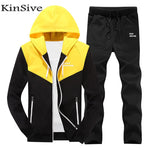 Hooded Sweatshirt Jacket And Pants