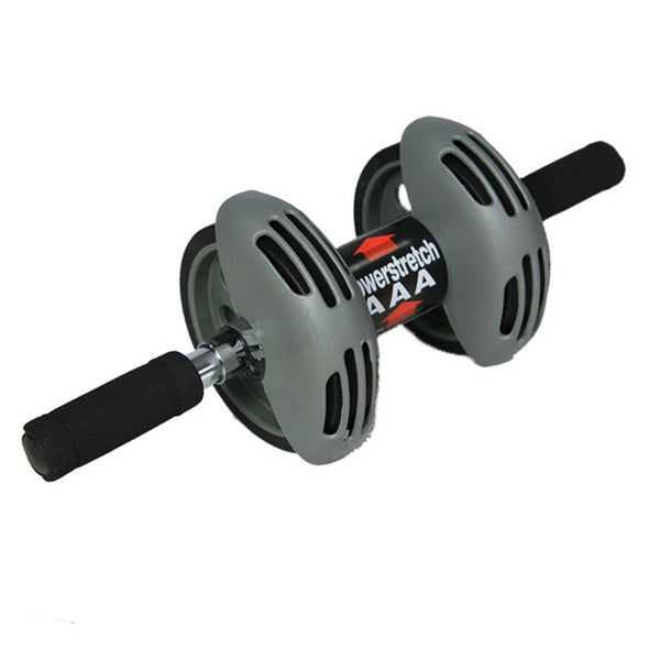 Indoor Double Wheel Ab Roller ABS Silent Abdominal Muscle Training Device Total Body Exerciser Outdoor Fitness Equipment