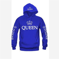 Bigsweety King and Queen Hoodies