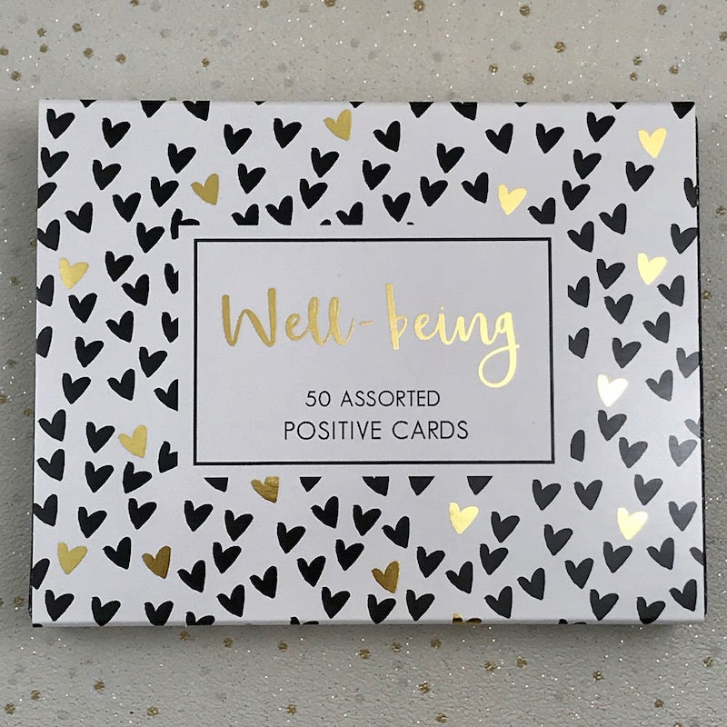 Inspiration Cards - Wellbeing Gold