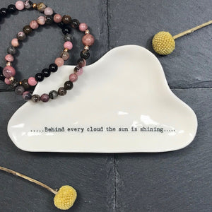 Jewellery Dish - Every Cloud