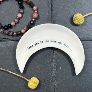 Jewellery Dish - Moon and Back