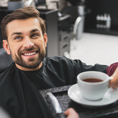Coffee for Barber Shop