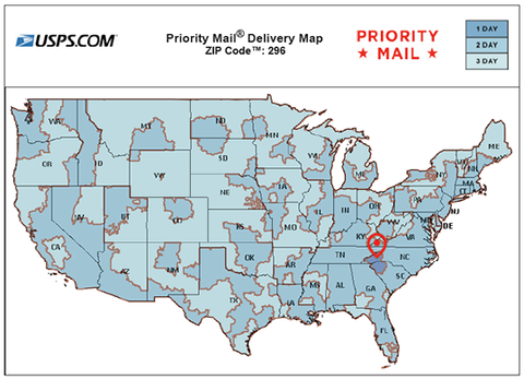 Shipping Policy - The Coffee Shopping Network on usps priority regional zone map, fedex delivery map, usps time estimate map, usps priority transit time map, usps postal routes map, priority shipping map, usps postal zones map us, usps standard delivery timemap, usps delivery routes maps, usps shipping, usps mail zones map, usps service map,