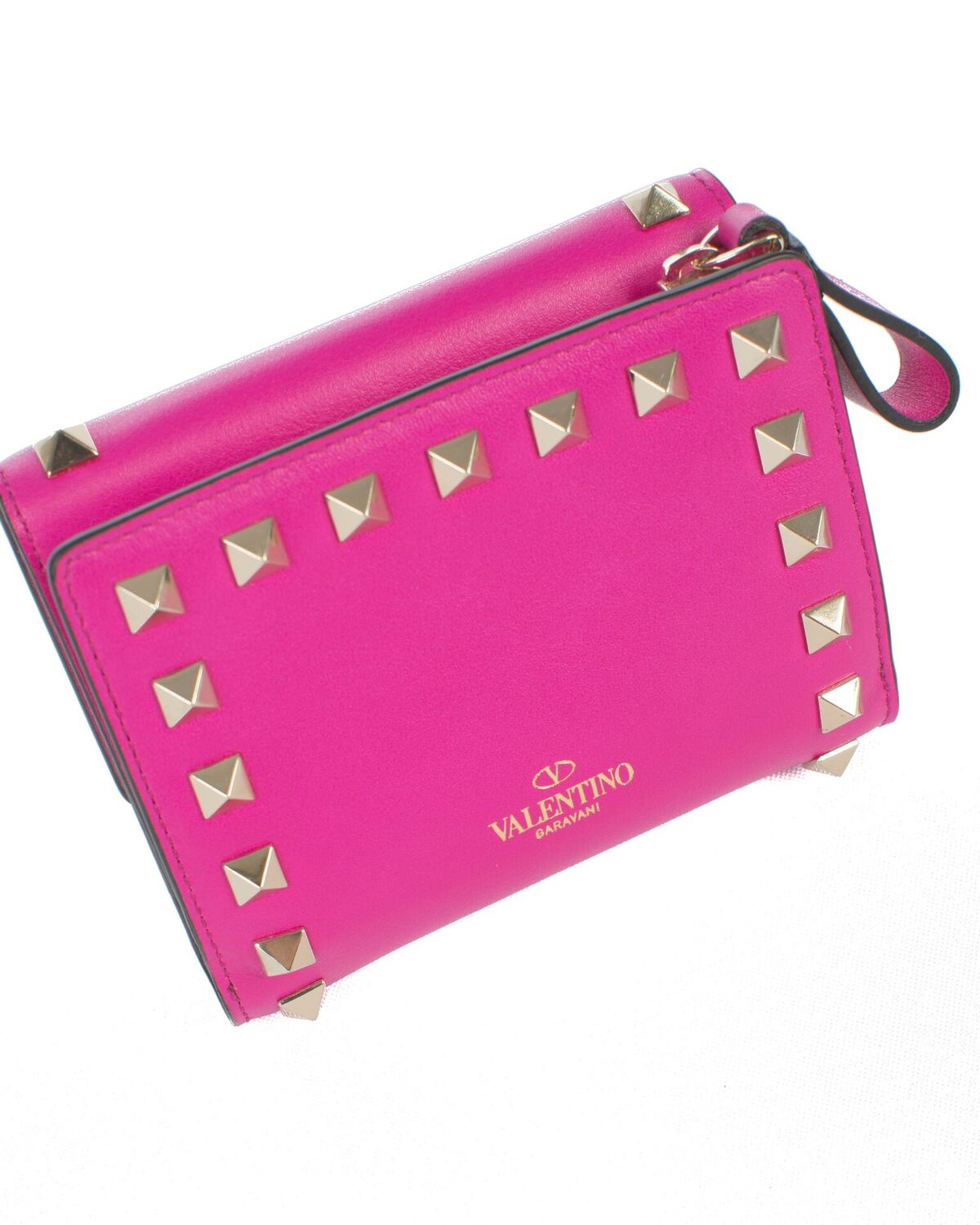 Valentino Shocking Pink Small Wallet