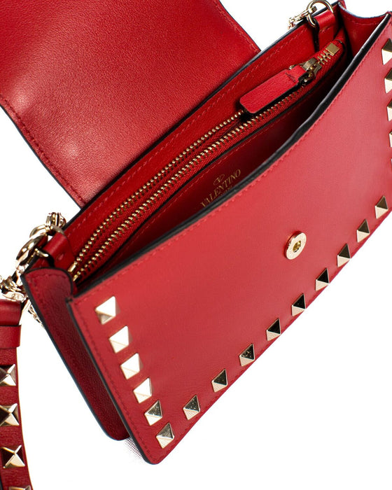 Valentino Red Wallet Bag