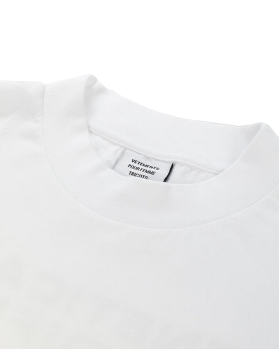 Vetements White Genetically Modified Cotton T-shirt