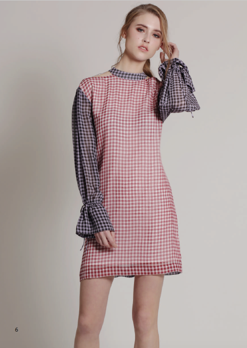 MARION DRESS GINGHAM
