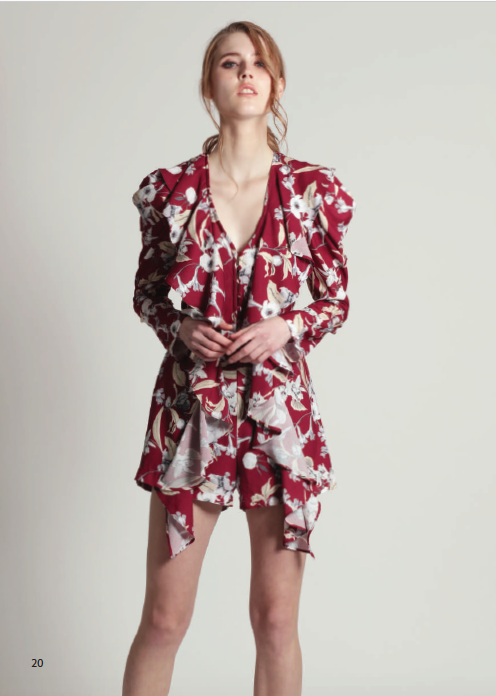 FAY ROMPER, LATE BLOOM PRINT