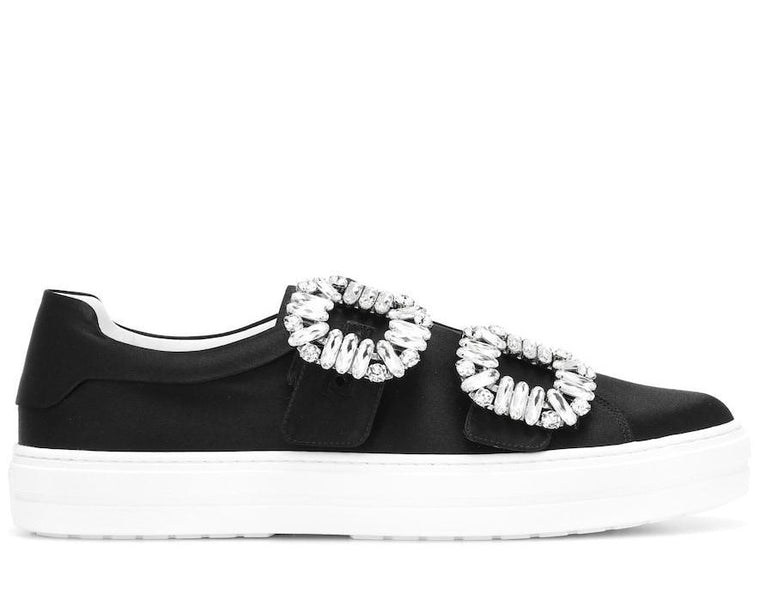 ROGER VIVIER - Double Buckle Sneaker BLACK