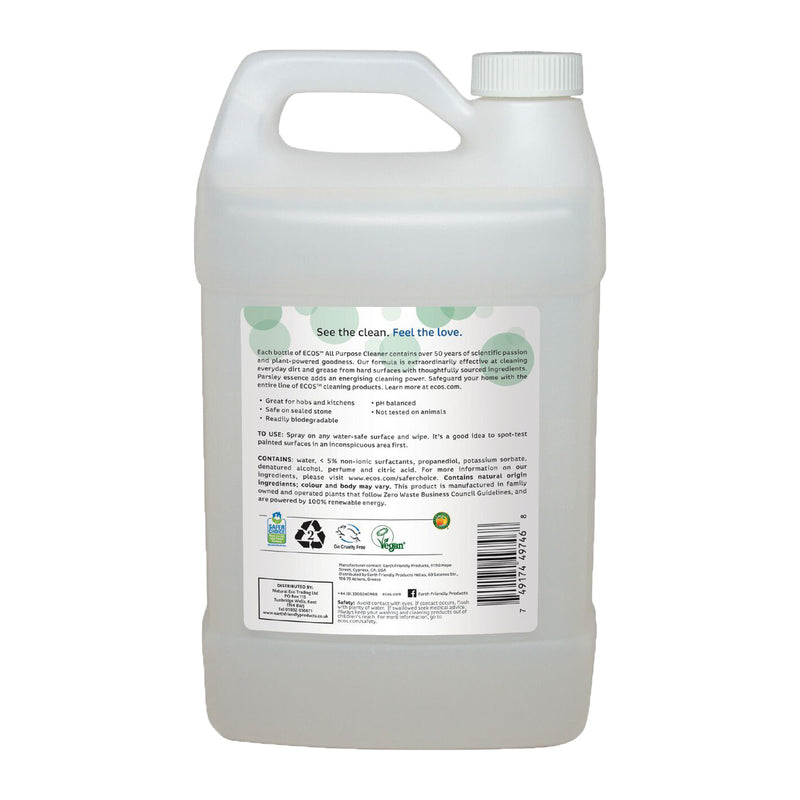 Earth Friendly Products ECOS Parsley Plus All Purpose Cleaner Bulk back