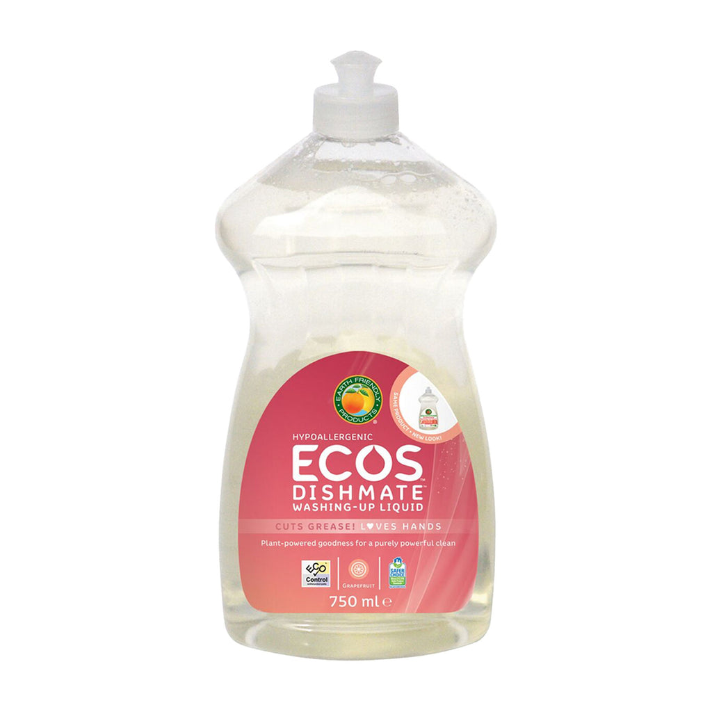 ECOS Dishmate Grapefruit - Vegan approved washing-up liquid