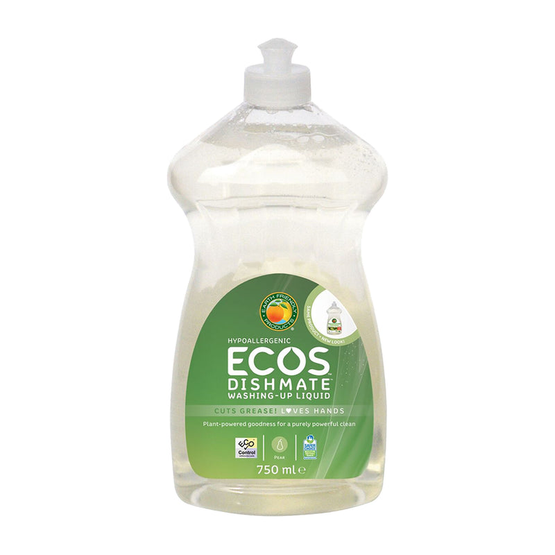 ECOS Dishmate Pear - Vegan approved washing-up liquid
