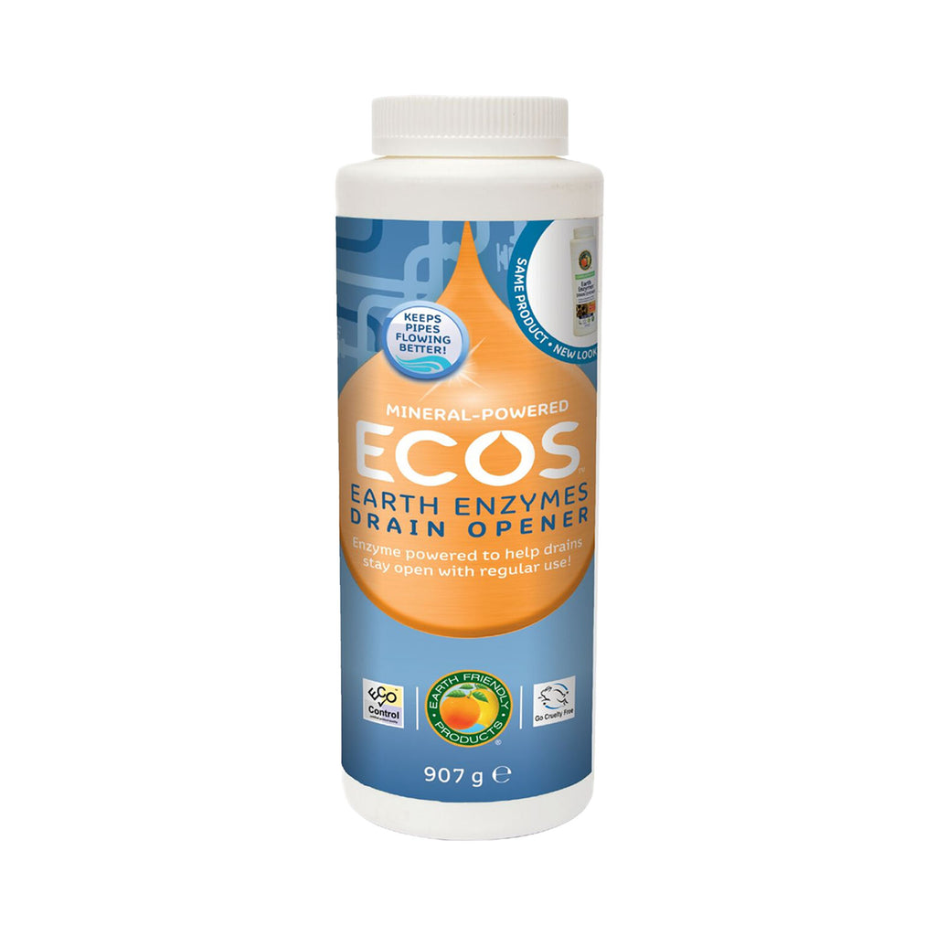 Natural drain cleaner - ECOS Earth Enzymes Drain Cleaner