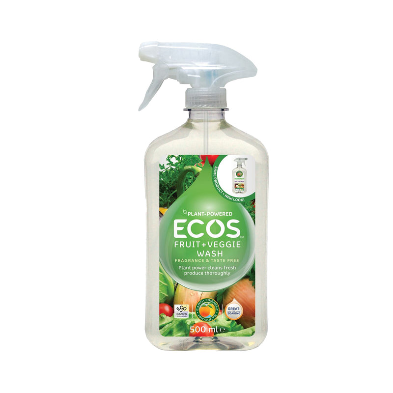 Earth Friendly Products ECOS vegan Fruit and Veggie Wash