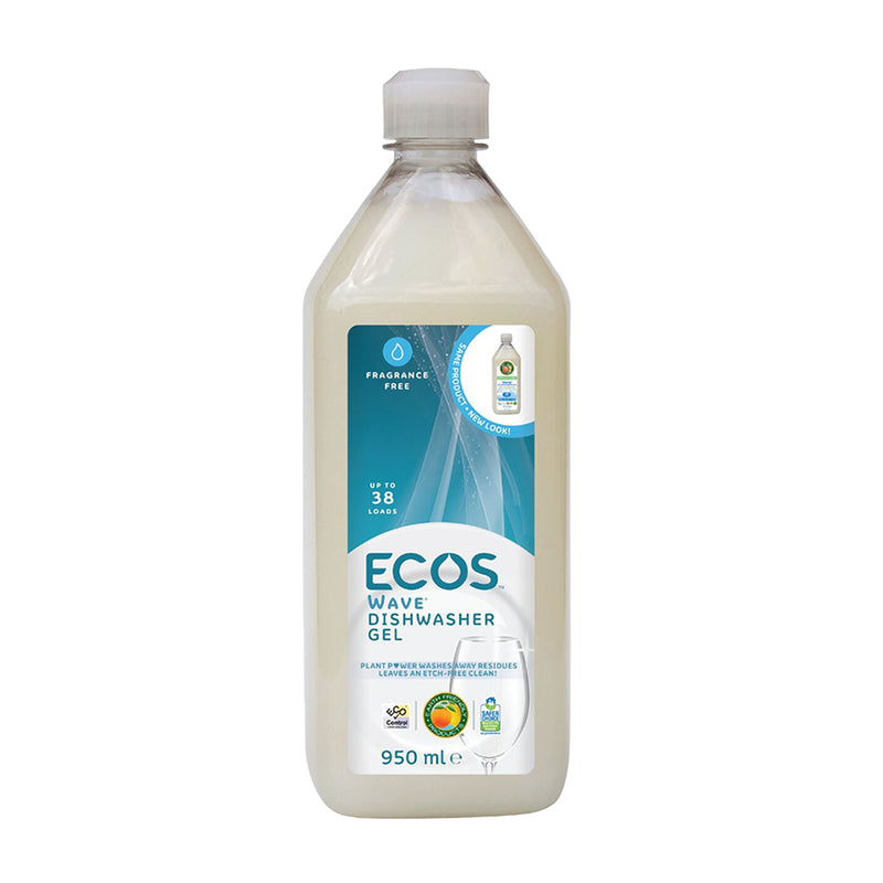 ECOS Wave Dishwasher Gel - vegan approved dishwasher gel