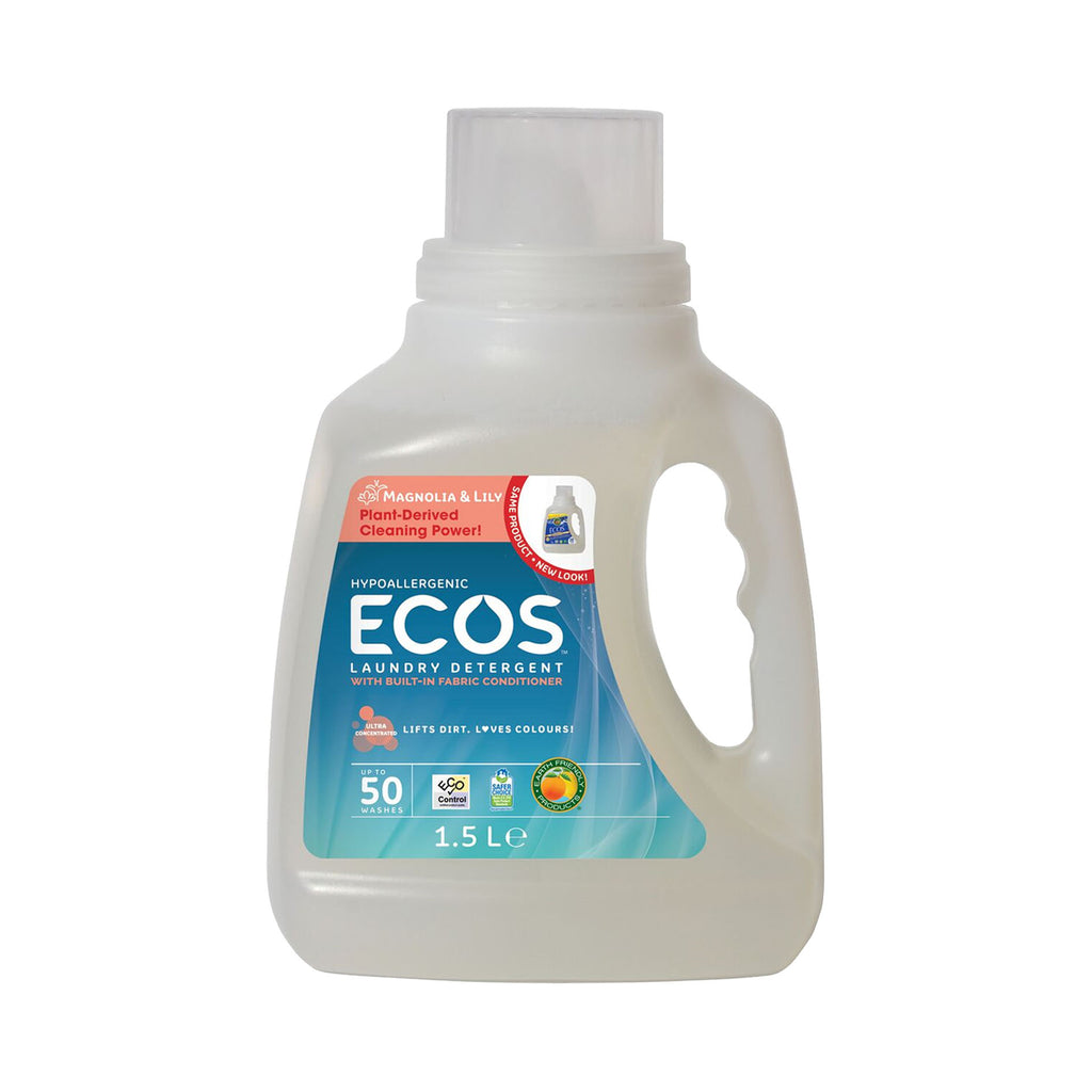 ECOS Hypoallergenic Laundry Detergent 1.5 Litre Magnolia & Lily