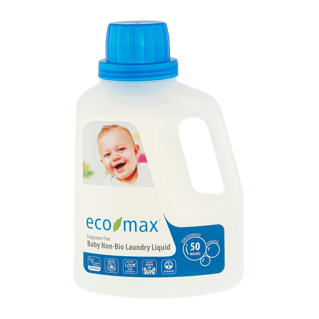 Baby Non-Bio Laundry Liquid - Fragrance-Free (50 washes) 1.5L