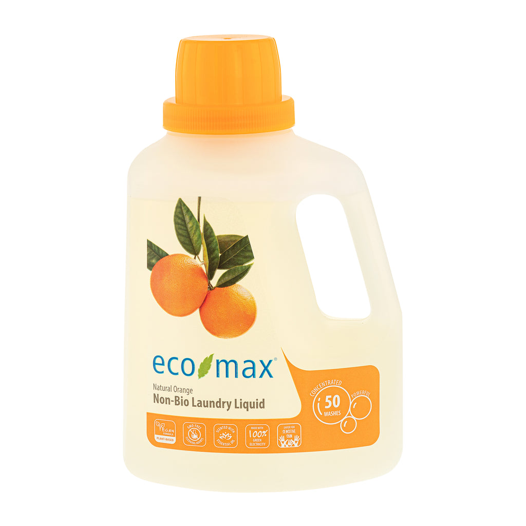Non-Bio Laundry Liquid - Natural Orange (50 washes) 1.5L