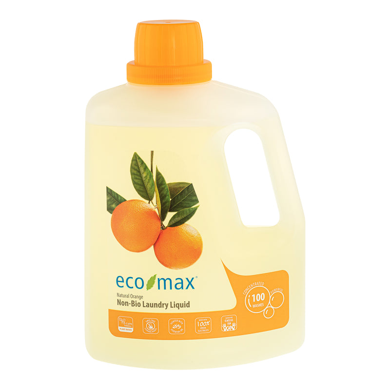 Non-Bio Laundry Liquid - Natural Orange (100 washes) 3L