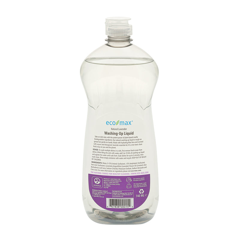 Washing-Up Liquid - Natural Lavender 740ml