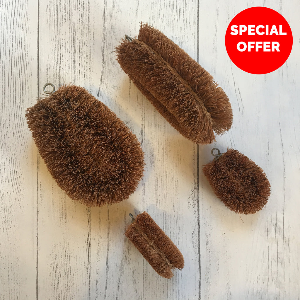 LoofCo Unlabelled Household Brushes Sale