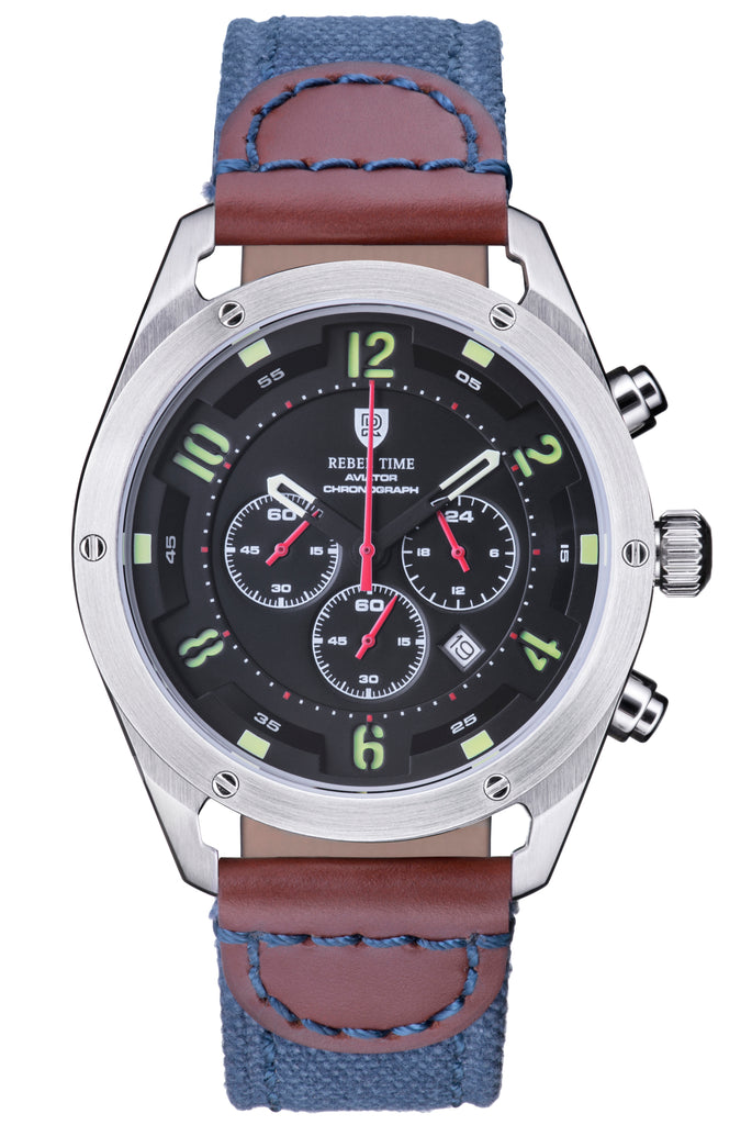 AVIATOR CHRONOGRAPH - BLACK