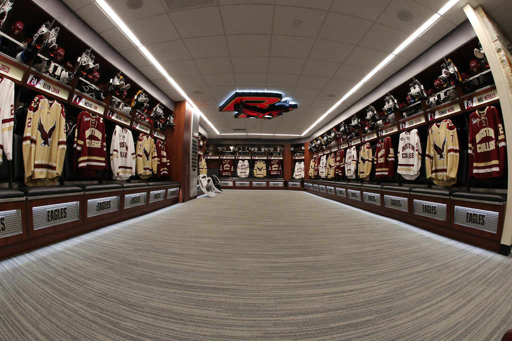 boston college hockey east hockey college hockey locker room top ten top 10 list of all locker rooms