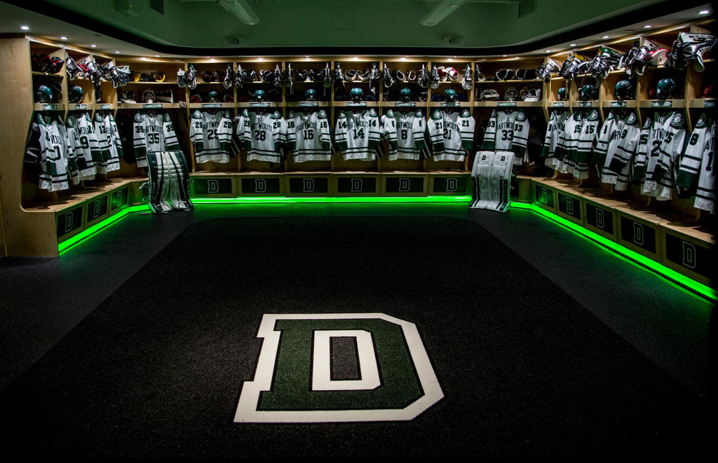 dartmouth college hockey big green top 10 list locker rooms in college hockey ecac