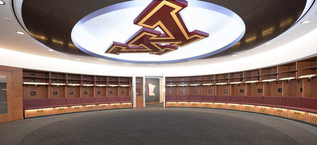 minnesota golden gophers big ten hockey college hockey locker room top 10 list
