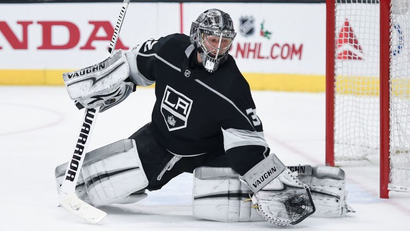 jonathan quick goalie goaltender la kings los angeles kings back in form better now improvement kings pacific seattle goalie draft expansion draft 2021