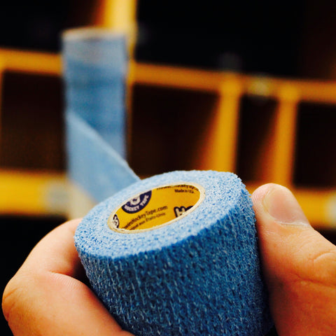 Howies Sky Blue Stretchy Grip Hockey Tape