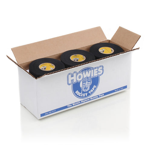 Howies Black Cloth Hockey Tape Bulk - Howies Hockey Tape