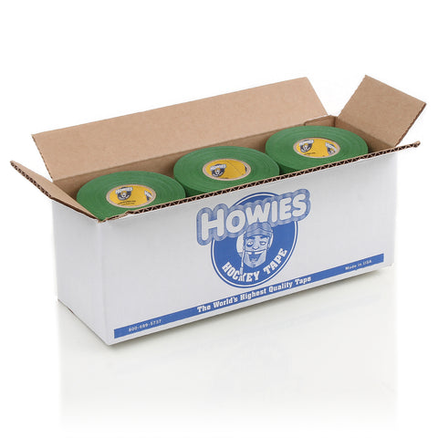 Howies Green Cloth Hockey Tape - Bulk 12pk - Howies Hockey Tape