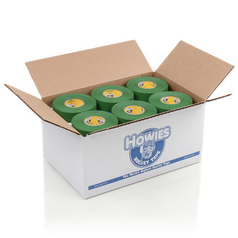 Howies Green Cloth Hockey Tape - Bulk 36pk - Howies Hockey Tape