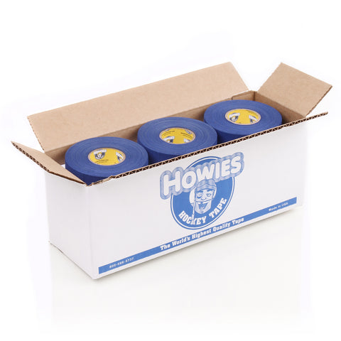 Howies Royal Blue Cloth Hockey Tape Bulk 12 pack- Howies Hockey Tape