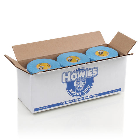 Howies Sky Blue Cloth Hockey Tape - Bulk 12pk - Howies Hockey Tape