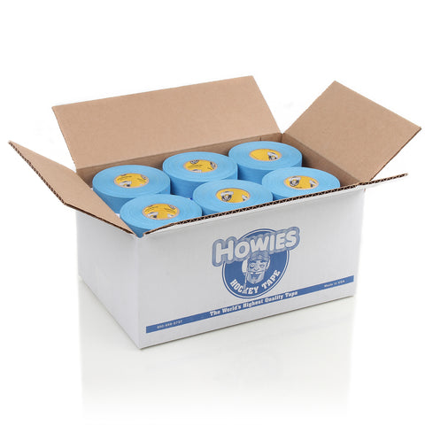 Howies Sky Blue Cloth Hockey Tape - Bulk 36pk - Howies Hockey Tape