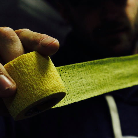 Howies Yellow Stretchy Grip Hockey Tape